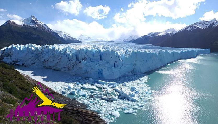 Panorámica Glaciar Perito Moreno