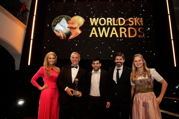 Entrega de premios del World Ski Awards.