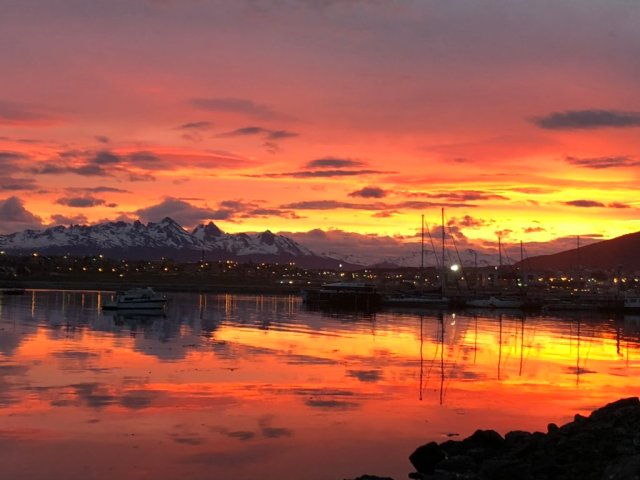 Ushuaia, Tierra del Fueo, provincia de la Patagonia locación de films.