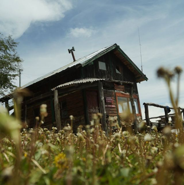 Refugio del cerro Piltriquitrón en El Bolsón