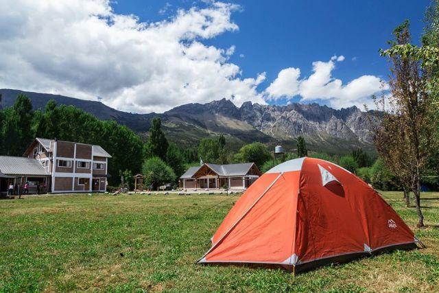 Camping Refugio Patagónico en El Bolsón.