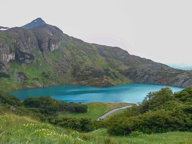 Laguna del Caminante en el Parque Nacional Tierra del Fuego