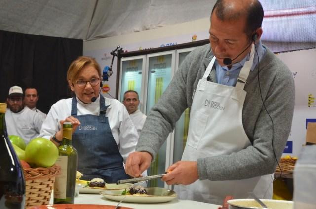 Festival del Chef Patagonico cocineros. Villa Pehuenia.