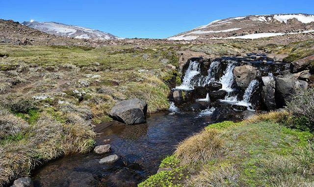 Área Natural Protegida Copahue en Neuquén.