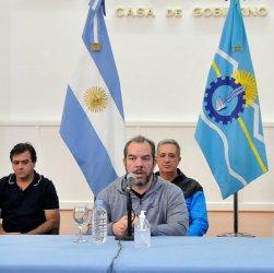 Conferencia de prensa Salud Chubut