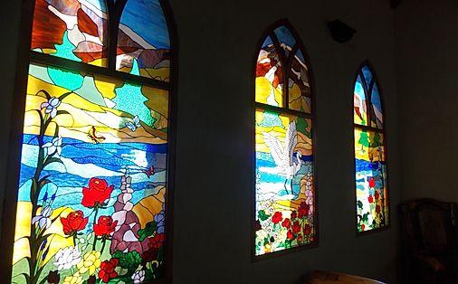 Vitreaux de la capilla