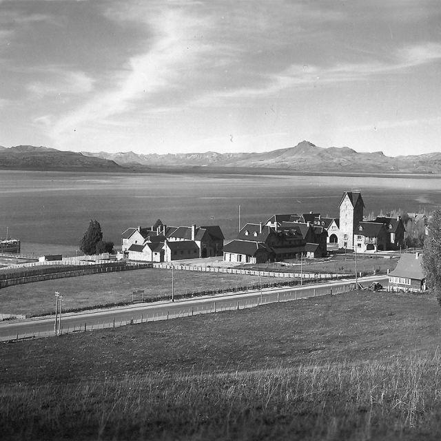Foto de archivo de Bariloche a 118 años de su nacimiento.