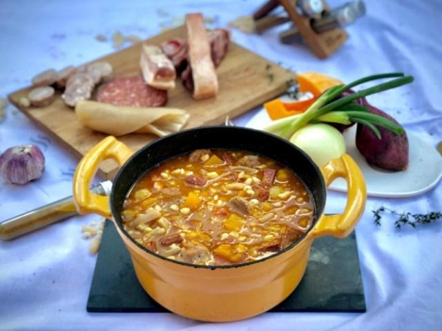 Locro, uno de las recetas fueguinas.