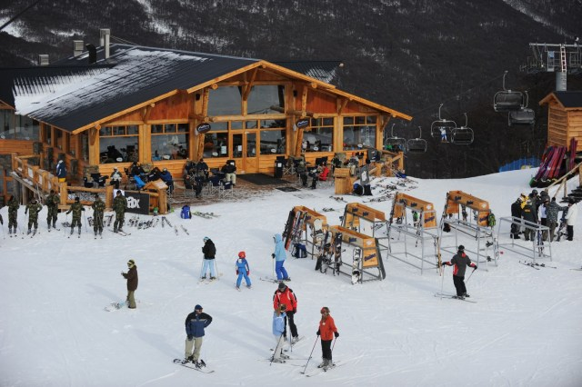 Ushuaia apertura de los centros de esquí.
