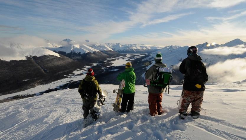 ushuaia apertura de los centros de esquí