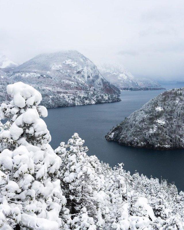 San Martín de los Andes con nieve