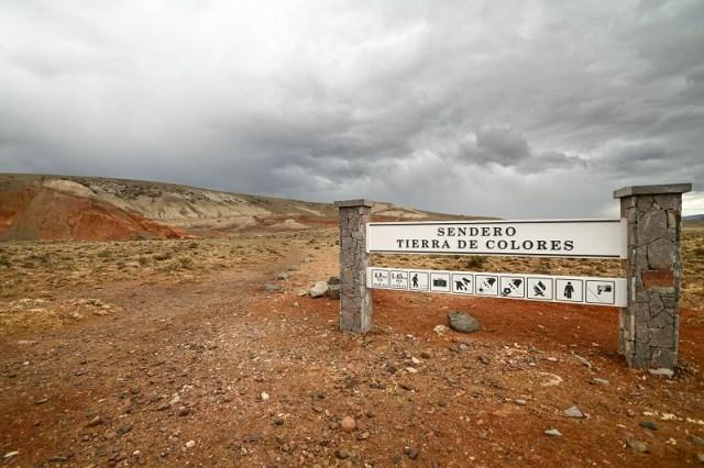 Parque Patagonia, sendero.