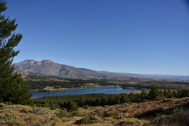 Mirador de la parte alta a la laguna La Zeta.