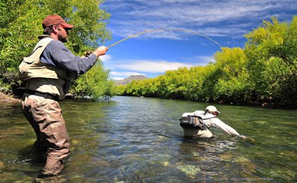 Bamboo rods in Patagonia - Patagonia Fly Fisherman