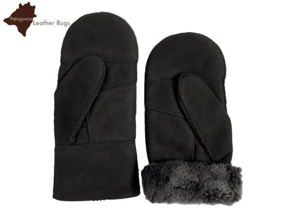 mitones agnello montone handschuhe lammfell gants agneau