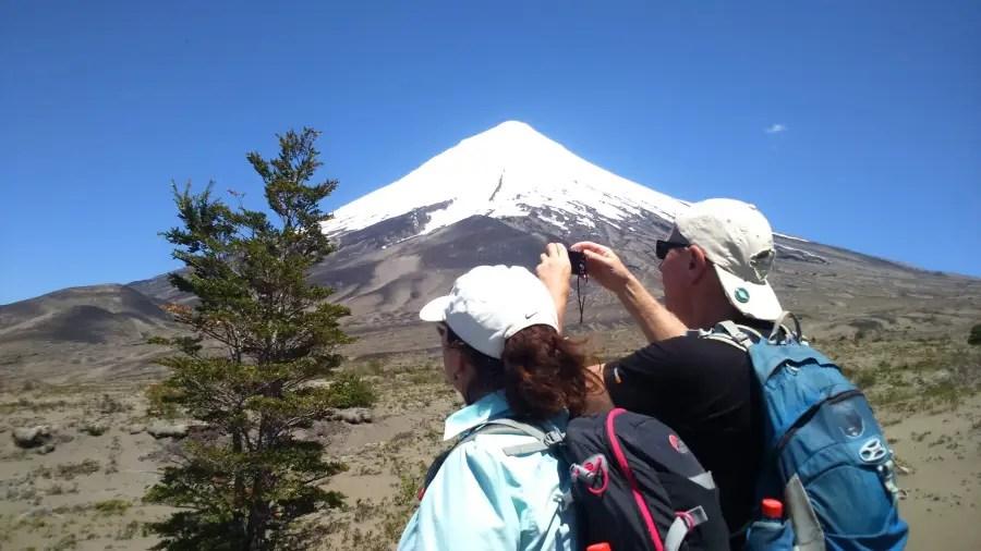 Hiking and Photografic tour around Osorno volcano Puerto Varas Patagonia Chile