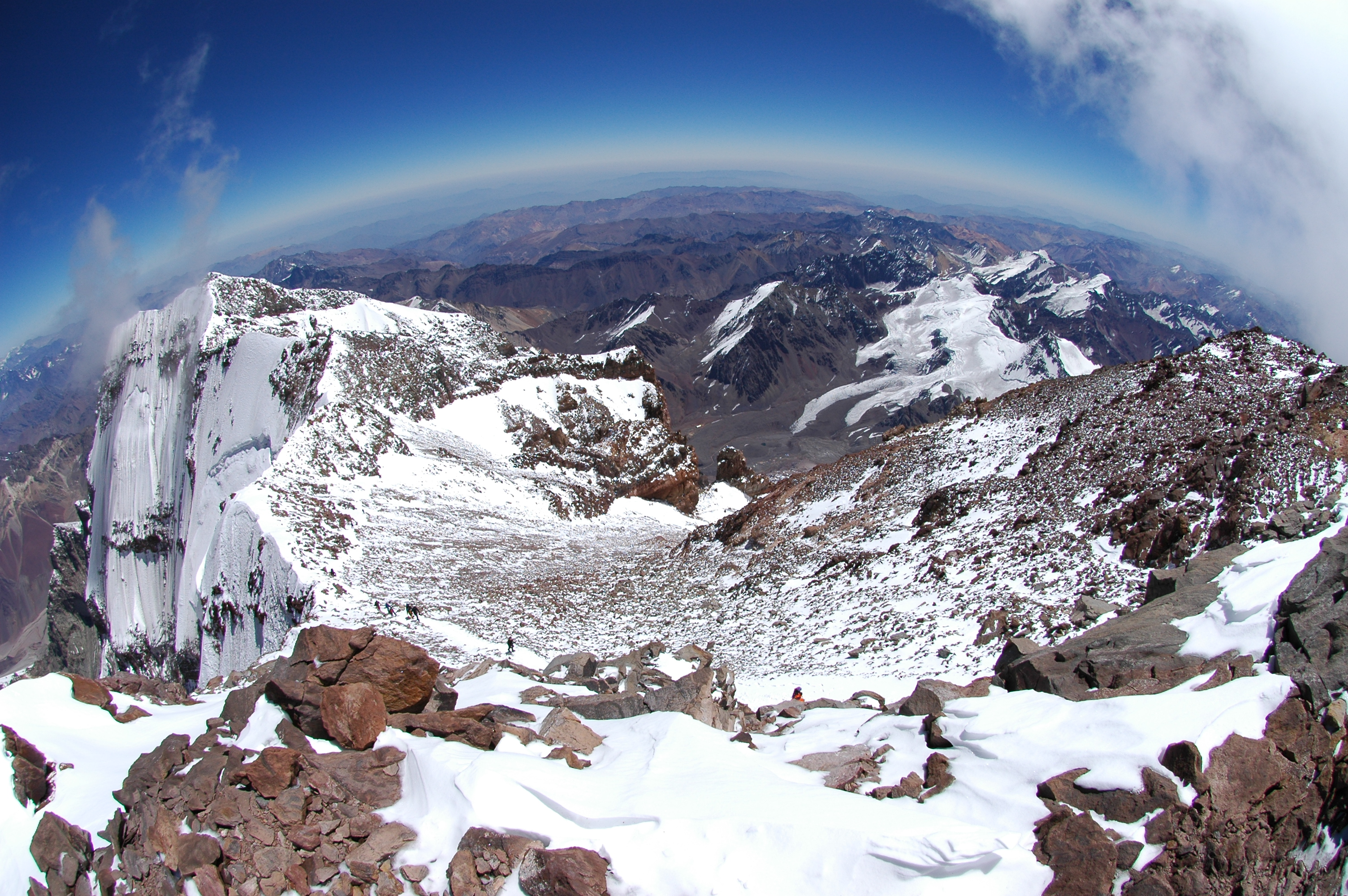 Great news! This season all of our expeditions have reached the top of America so far!