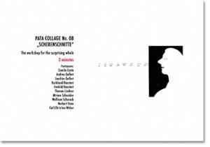 """Pata Collage No. 08 """"Scherenschnitte"""""""