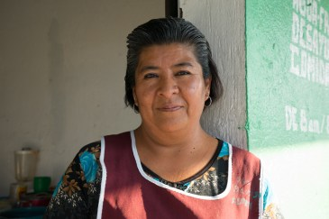 "Delia Gema Vicente Lopez makes tortas at ""Comedor Santy,"" Fonda, San Agustin De Las Juntas south of the city of Oaxaca."