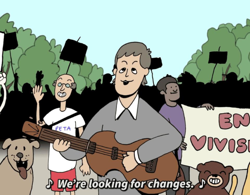 paul mcCartney lança looking for changes