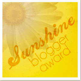 sunshine blog award