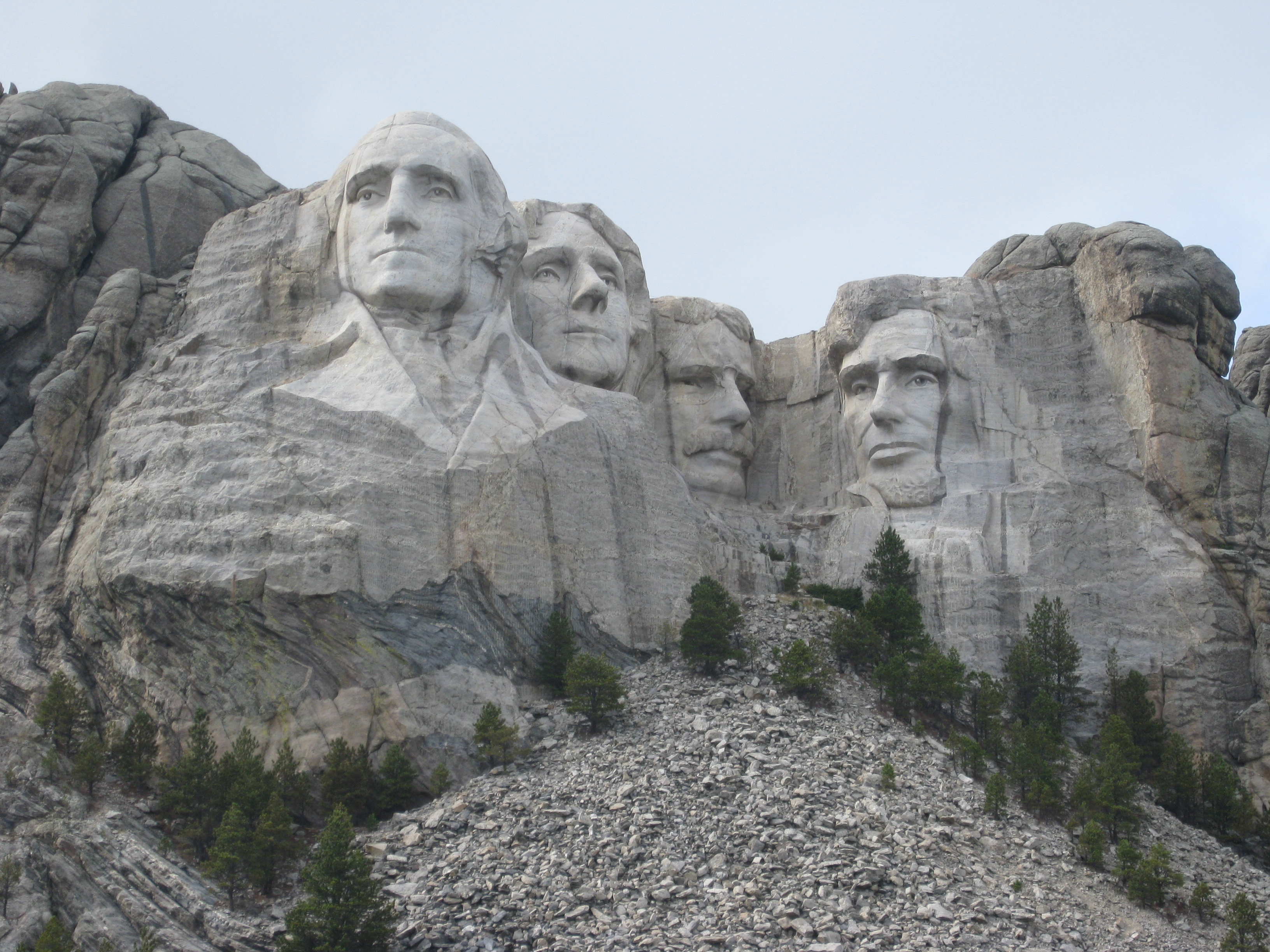 Mount Rushmore Behind The Faces