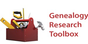 Genealogy Research Toolbox