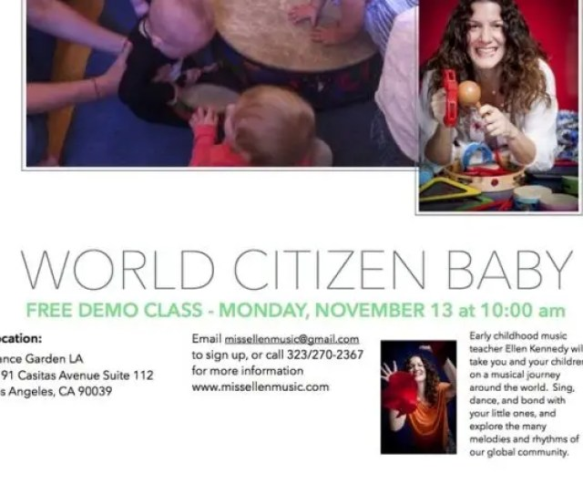 World Citizen Baby Baby Toddler Music Classes Free Demo Class
