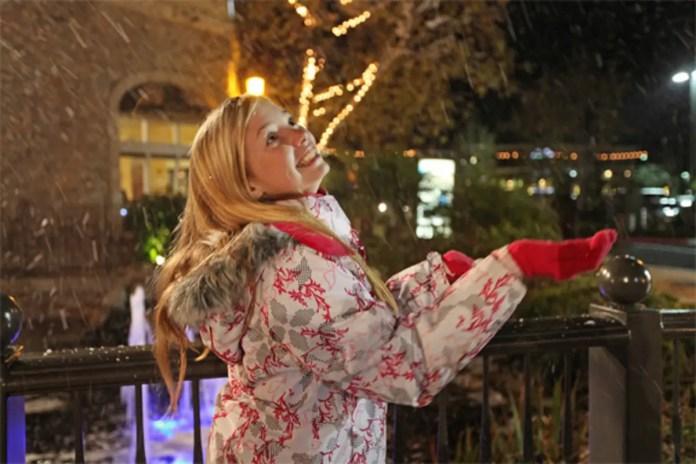 FREE Nightly Magical Snowfall