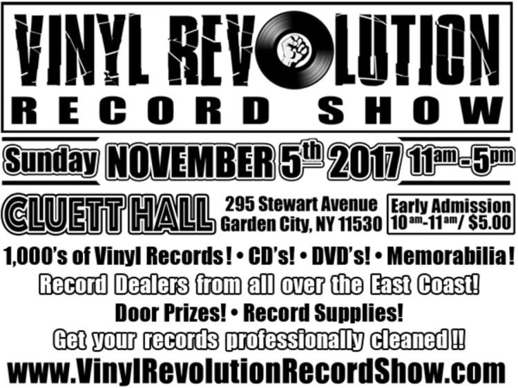 Nov 5 | The Vinyl Revolution Record Show | Garden City, NY Patch