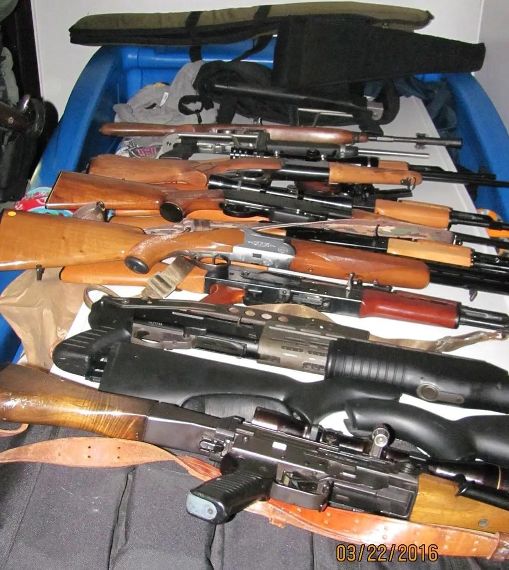 Deputies Find Assault Rifles Ammunition In Bay Point