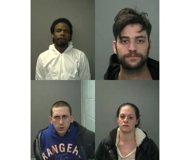 Four Charged In Robbery Spree  Arrested In Massage Parlor Crackdown Father Son