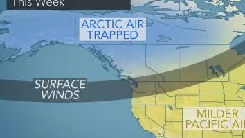HD Decor Images » PA Winter Weather Forecast Released For January  Early February         mild Pacific air travels to Pennsylvania  Surface winds will prevent  cold air   the so called  Polar Vortex    from traveling from Canada to our  region