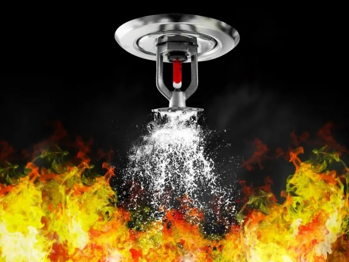 Sprinkler Helps Control Flames In Palatine Apartment Fire (image)