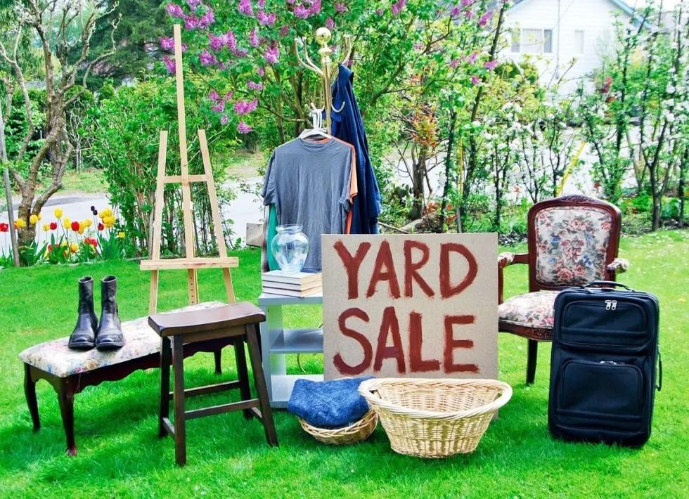 4 Family Yard  Sale