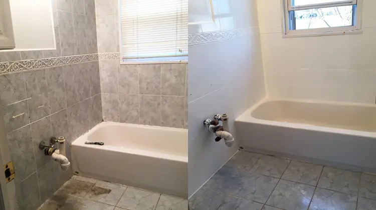 bathroom makeover for less than 2 000