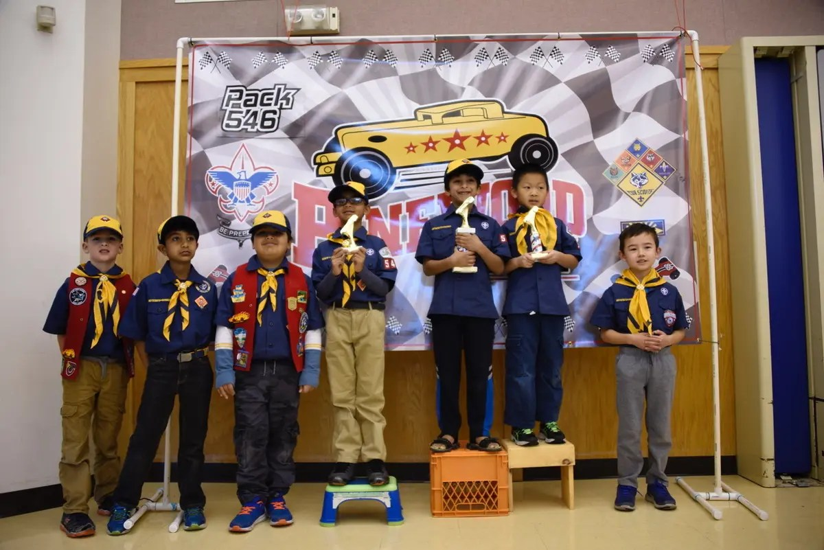 Cub Scout Pack 546 Hosts Pinewood Derby