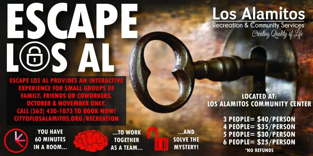 Escape Los Al Offers Two New Rooms This Fall