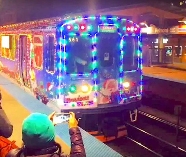 Decked Out Cta Holiday Train Arrives Friday