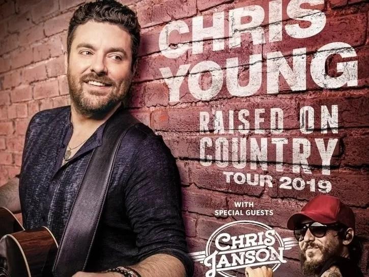 Country Star Chris Young S 2019 Tour To Hit Raleigh