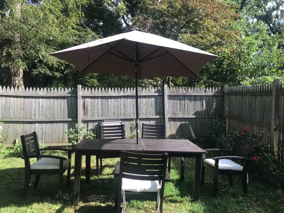 pottery barn chatham outdoor table