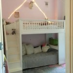Used Pottery Barn White Loft Bed With Stairs And Desk Fort Greene Ny Patch