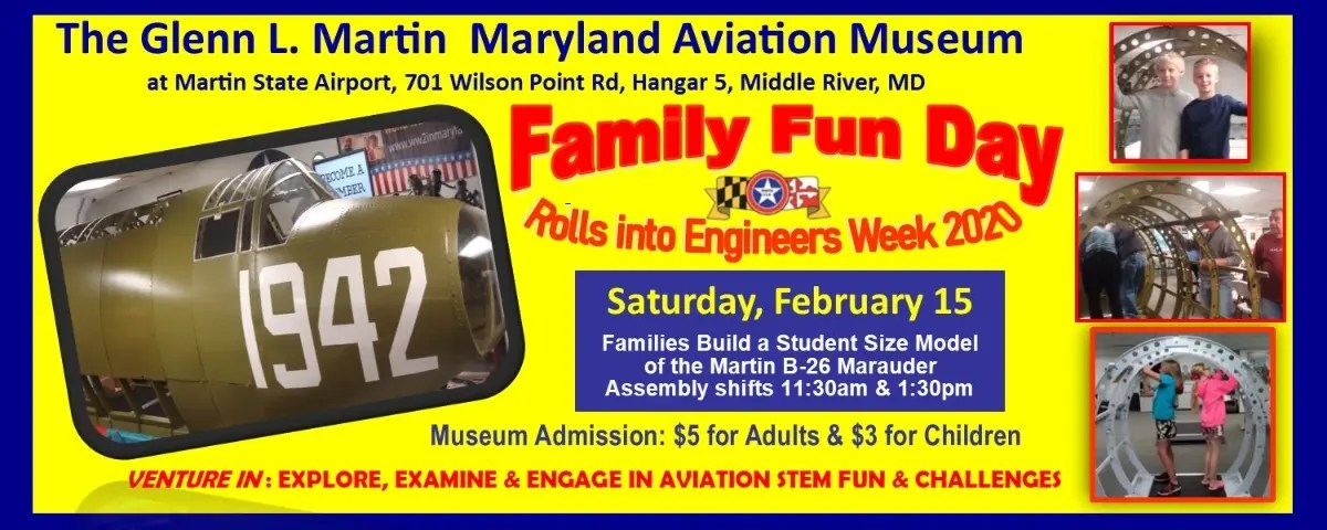 February 15 | Family fun day for aviation Build-a-Plane