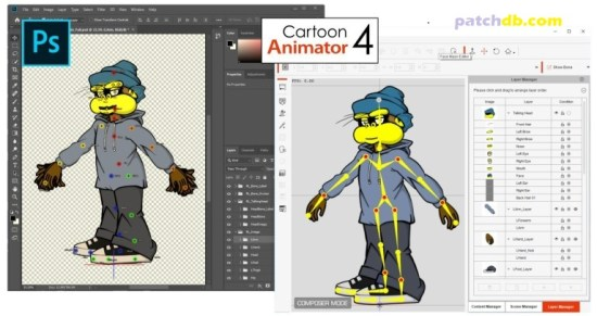 Cartoon Animator 4.41 Crack With License Key Free Download