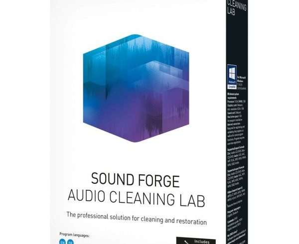 Magix Sound Forge Audio Cleaning Lab Crack v24.0.1.16 Full Version 2020