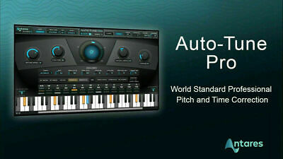 Antares Autotune Pro 9 audio software