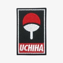 patch bordado adesivo termocolante customização naruto uchiha