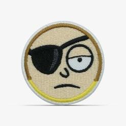 patch bordado adesivo termocolante customização Rick morty mal