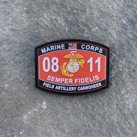 0811 Field Artillery Cannoneer PVC MOS Patch