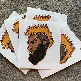 NEW!  OBJ Slap sticker